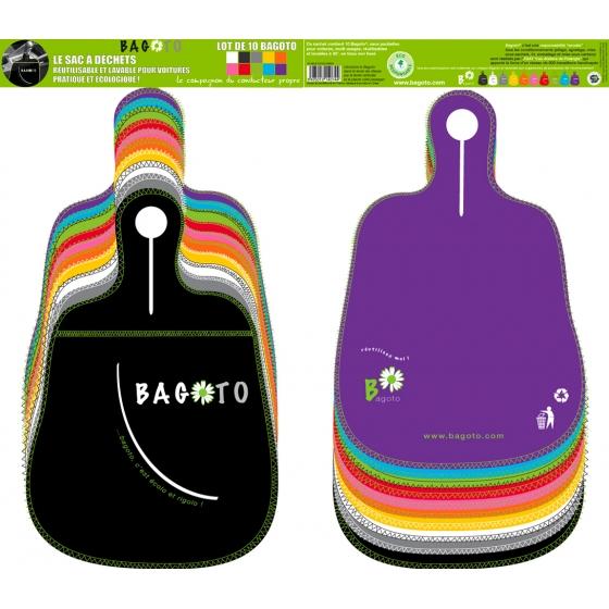 Multicolored Bagoto 10-pack