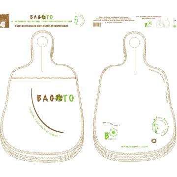 Car trash bag x3 bio