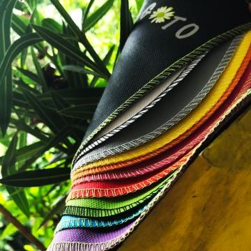 Poubelle de voiture x10 multicolore