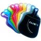 Pack de 10 bagoto multicolore