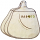 The 3-pack Bagoto in natural bamboo fiber