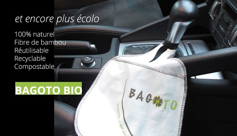 Bagoto 100% naturel, fibre de bambou, réutilisable, recyclable, compostable