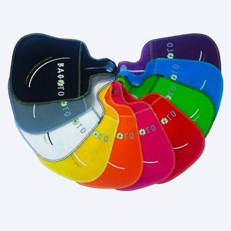 Poubelle de voiture écologique multicolore