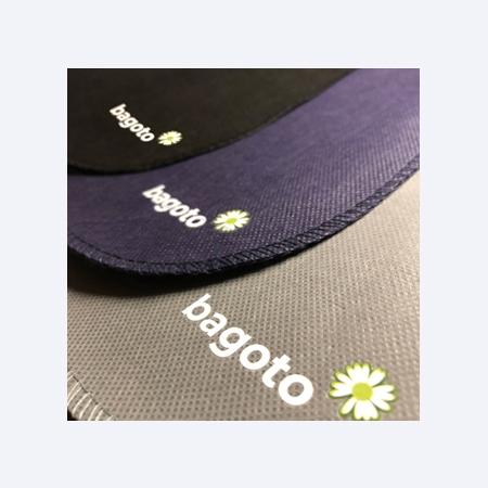 Poubelle de voiture écologique Bagoto New logo